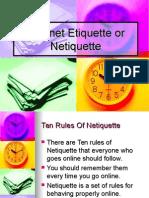 Netiquette End Term