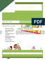 Book Project Letter&HandOut
