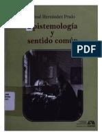 Epistemología y Sentido Comun