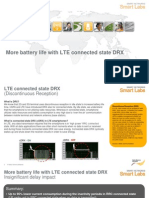 More Battery Life With Lte Connected Drx