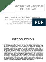 AUDITORIAS ENERGETICAS 2015