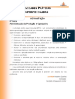 ATPS A2 2015 2 ADM6 Administracao Producao Operacoes