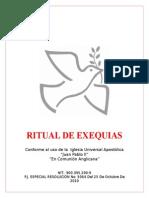Ritual de Exequias