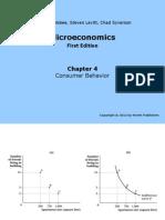 Microeconomía - Capítulo 4