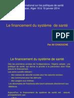 06 Financement Systeme Sante Chaouche Copy