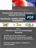 Embriología introduccion
