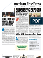 American Free Press - Bilderberg Exposed (Issue 21 - May 23, 2005)