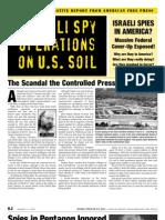 American Free Press - Israeli Spy Operations on U.S Soil (January 10, 2005)
