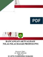 Laporan Aktualisasi NNDPP - Rani