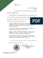 Certificacion 50-2014-2015 Junta de Gobierno UPR