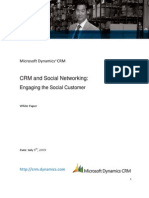CRM and Social Networks
