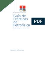 Guía de Prácticas de Petrofísica