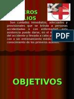 SEMINARIO - PRIMEROS AUXILIOS