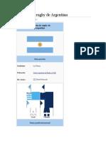 Seleccion Argentina Los Pumas