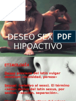 Trastorno Sexual Hipoactivo y Trastorno Por Aversion Al Sexo