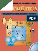 Aritmetica Teoria, Conceptos, Ejercicios Resueltos y Propuesto