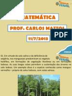 11-7 - Matematica - Carlosmattos