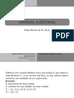 UFPI-Variáveis Aleatórias