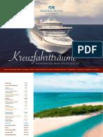 Princess Cruises Deutschland - Routenübersicht Januar 2010 bis April 2011