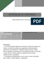 UFPI-Intervalos de Confiança