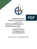 Estructura Del Anteproyecto de Protocolo a Seguir