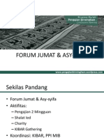 Forum Jumat & Asy-syifa Review 2014-2015