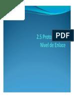 2.5. Protocolos de Nivel de Enlace