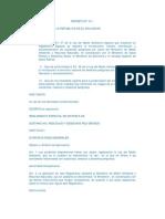 Reglamento Especial Sustancias Residuos Desechos Peligrosos