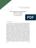 Ecos Aragoneses en La Literatura Medieval Española