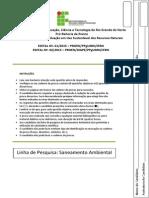 1009-Saneamento 2015 Edital 1 e 2