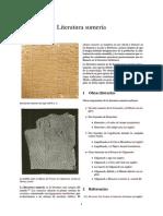 Literatura Sumeria