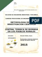 Monografia de Investigacion Cientifica
