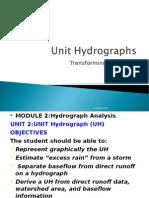 M2 Lecture 2 -Unit Hydrograph-2015