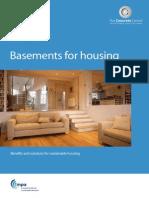 Concrete Centre Basements for Housing