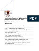 Qualitative Research and Evaluation Meth