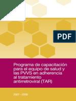 Programa de Capacitacion PVVS