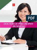 Brochure Phd Business II