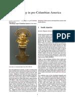 Metallurgy in Pre-Columbian America