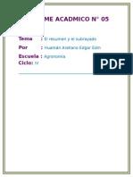 INFORME ACADMICO N° 05.docx