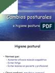Cambios posturales