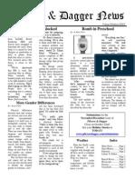 Pilcrow and Dagger Sunday News 10-18-2015