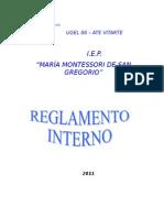 r.i. Maria Montessori de San Gregorio (Np)