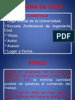 2da. Clase Seminario de Tesis. Ing.