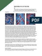 Sejarah Perkembangan Batik Di