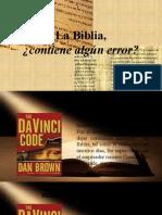 La Biblia, ¿Contiene Erroreschgjcghj