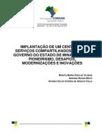 064 Implantacao de Um Centro de Servicos Compatilhados No Governo Do Estado de Minas Gerais