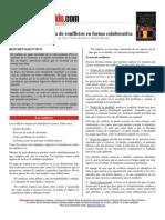 Resolucion de conflictos en forma colaborativa