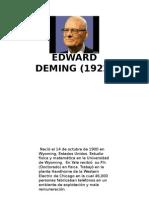 Edward Deming PHVA