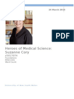 Heroes of Medical Science - Draft