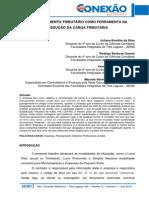 029 (Contabeis) O Planejamento Tributário Como Ferramenta Na Redução Da Carga Tributária
